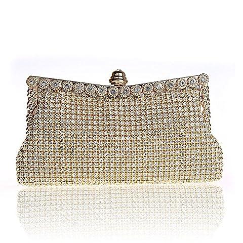 Sac à main strass/ sac de soirée de mode/Parti clutch bag-A