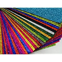 KoolkidsPlus Hojas A4 de gomaespuma, Juego de Seis, Colores a Elegir