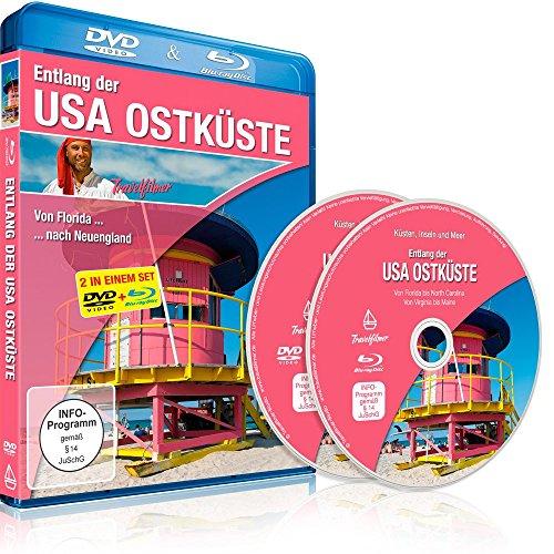 Entlang der USA Ostküste (Von Florida nach Neuengland) [DVD] und [Blu-ray] in einem Set