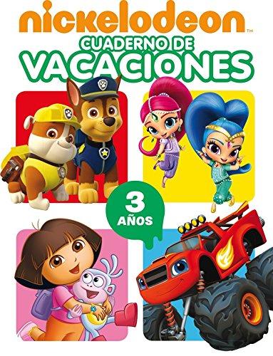 Cuaderno de vacaciones Nickelodeon. 3 años