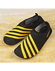 Sibba unisex zapatos de agua de natación Calzado de Agua Calzado de Surf Calzado de Playa (orange, XXL(42-43))