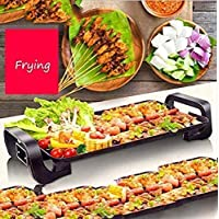 BBQ Grill Smokeless Grill Grill Table Grill Large Non-Stick Grill Plates Adjustable Temperature Control Clean Simple Simple Large Party Make