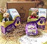 Peter Rabbit & Flopsy Rabbit Duo Easter Cadbury Gift Box...