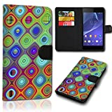 Book Style LG L Bello Tasche Flip Brieftasche Handy Hülle Kartenfächer für LG L Bello - Design Flip SVH44