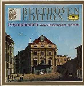 2721 154 Beethoven 9 Symphonies VPO Bohm 8 LP box