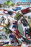 #7: Set of 10 Avengers Pull Back and Run Toy Car Series - Captain America, Hulk, Iron Man, Batman, Thor Car Series - Smart Buy