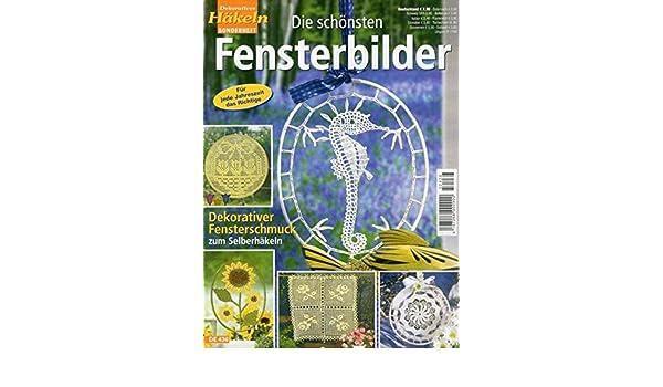 Vikant Verlag Dekoratives Häkeln Fensterbilder De 436 Amazonde