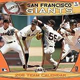 San Francisco Giants Team 2011 Calendar