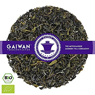 "N° 1216: Thé vert bio""Green Darjeeling FTGFOP"" - feuilles de thé issu de l'agriculture biologique - GAIWAN GERMANY - thé vert de Inde"