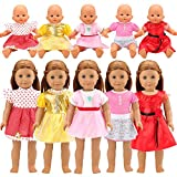 Miunana Abiti Vestiti Per Bambola Bambolotti Dolls (5 Vestiti (Selezionati A Caso))
