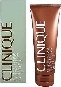 Clinique - Self Sun, Gel crème Teinté Auto-bronzant Corps - Teinte claire - Moyenne 125ml