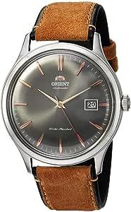 Orient Orologio Analogico Automatico Uomo con Cinturino in Pelle FAC08003A0