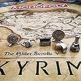 Monopoly - Skyrim-Edition - Brettspiel | 6 Sammler Spielfiguren | DEUTSCH | Gesellschaftsspiel Vergleich
