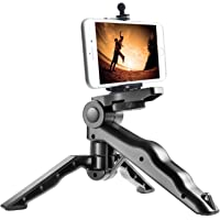 CEUTA® Phone Tripod, Andoer Camera stabilizer 1/4 Screw Handheld Mini Universal Smartphone Holder Tripod for iPhone…