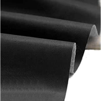Black Vinyl Faux Leather From The Fabric Barn Leatherette