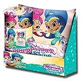Kids Licensing–Set Geschenk–Kissen und Kuscheldecke mit dem Bild von Shimmer und Shine, sh17007