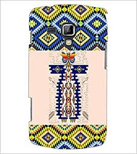 PrintDhaba Owl Pattern D-5640 Back Case Cover for SAMSUNG GALAXY S DUOS S7562 (Multi-Coloured)