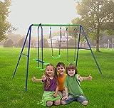 Best Swing Sets - AH Outdoor Baby Swing Set Kids Swing Review