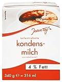 Jeden Tag Kondensmilch 4 %, 5er Pack (5 x 340 g)
