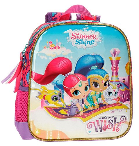 Shimmer and Shine Wish Mochila Infantil, 25 cm, 5.75 Litros,...