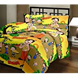 SUNJES Cartoon Prints Double Bed Dohar/AC Blanket/AC Dohar Multicolor Gift For Sweet Kids
