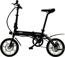 eelo 1885 Bicicletta elettrica - Portatile e Facile da riporre in roulotte, Camper, Barche. Batteria a Carica Rapida a...