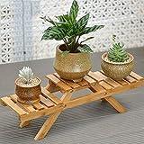 Bambù fiore rastrelliere porta vasi vaso decorativo del desktop vaso di fiori scaffale