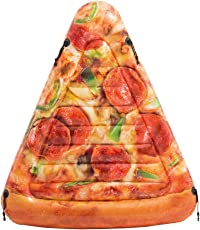 Intex - Materassino Pizza - Stampa Realistica, 175 x 145 cm, 58752