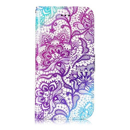iPhone 8, Premium Mobile Phone Case Slim Leather Cover for iPhone 8