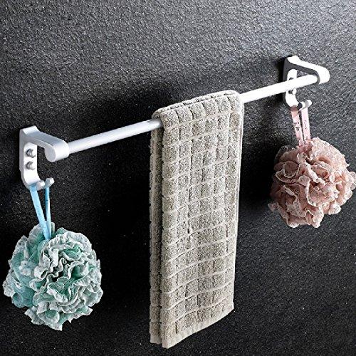 ZHGI Spazio di asciugamani in alluminio bar bagno portasciugamani asciugamano da bagno accessori