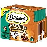Dreamies Deli Catz mit Pute | 8x 25g Katzensnack, Leckerli