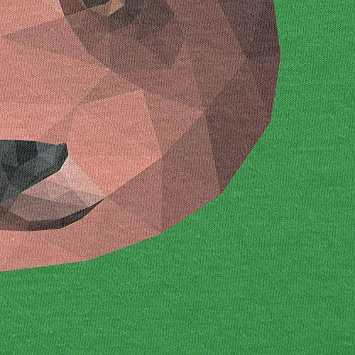 TEXLAB - Polygon Bearface - Herren T-Shirt Grün