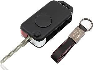 Schlüssel Gehäuse Fernbedienung Für Mercedes 1 Tasten Elektronik