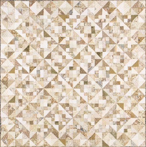 Hopscotch in Neutrals Quilt Pattern By Alex Anderson by Alex Anderson