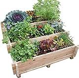 Escalier à légumes avec feutre mélèze brut FSC 100%
