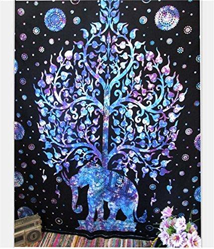 Teppichen Mit Küche Indische (Tapisserie Bohemien indisch Mandala Wandbehang Dekorationen Dekor Wandtuch Tischdecke Picknick-Strand-Blatt , 1 , 130*150cm)