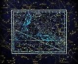 HQHff Costellazione dello Zodiaco Figura Disegno Alessandria,Puzzle di Adulti 1500 Pezzi 87x57cm,Regalo di Puzzle in Legno 3D Decorazione della casa Fai da Te