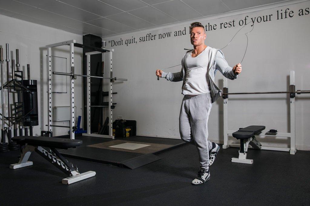 Boxe Speed Rope Pour Entra/înement Gym Accessoire Cardio Id/éal pour Maigrir MMA Fitness Se Muscler Corde /à Sauter Beast Gear Br/ûler des Calories Crossfit