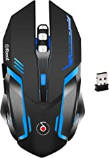 Offbeat RIPJAW 2.4Ghz Rechargeable Wireless Gaming Mouse - 7D Buttons, DPI : 1600,2400,3200, Mice for PC Laptop (Without Mouse Pad)
