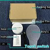 Per Luca VIP Touch Control Base bianca della lampada Base completa Monitoraggio valido senza alcuna fattura di ricezione