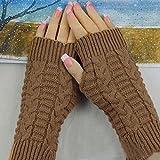 Handschuhe Transer® Fashion Strick Fingerlose Winter Handschuhe Unisex Weich Warm Fäustlinge für Presents