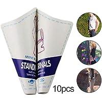 Pisse Debout pour Femme Jetable 10PCS / Lot - Urinoir Femme Urinoir en Papier Jetable Urinoire Portable pour Femmes