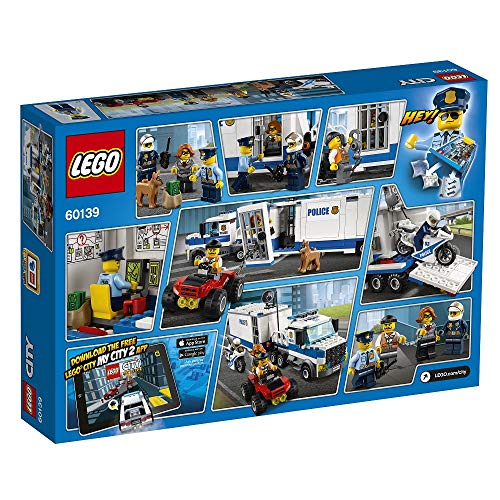 Lego 60139 City Mobile Einsatzzentrale, Bausteinspielzeug - 14
