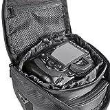 KIT MANTONA Colttasche Colt Kameratasche schwarz + PATONA PREMIUM SERIES Akku für CANON LP-E8 für CANON EOS 550D 600D 650D 700D - 4