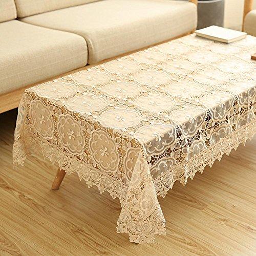 Europäische Spitze Tischdecke TV-Schrank Abdeckung Handtuch Seitenschrank kleinen Couchtisch abgedeckt Handtuch Kühlschrank Deckel Tuch , #2 , 130*180cm