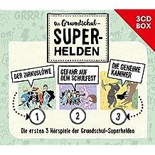 Die Grundschul-Superhelden 3CD-Box (Folge 1-3)
