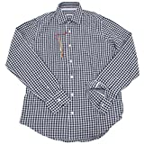 0009 camicia ALTEA uomo shirts men blu quadretto [S]