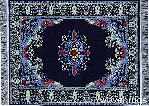 Preisvergleich Produktbild NAVY blau gewebte Teppich Maus-Pad