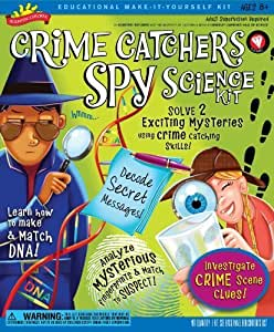POOF-Slinky 0S6802008 Scientific Explorer Crime Catchers Spy Science Kit with Decoder Glasses and Top Secret Mysteries, 8-Activities by Scientific Explorer TOY (English Manual)