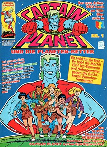 *Verlagsvergriffen* CAPTAIN PLANET und die Planeten-Retter Comic Magazin # 1: Helden für die Erde!